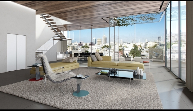 1112 For In A New Building The Heart Of Tel Aviv