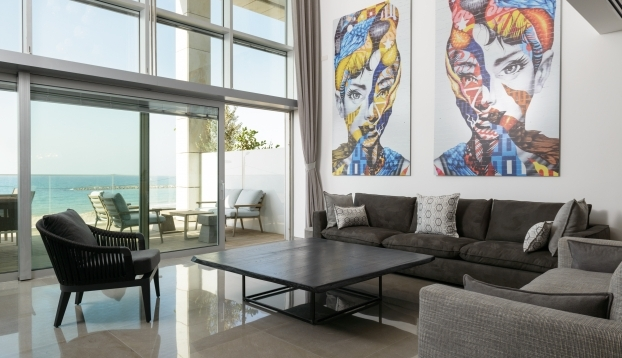 734 Sea Front Apartment For In Herbert Samuel Tel Aviv