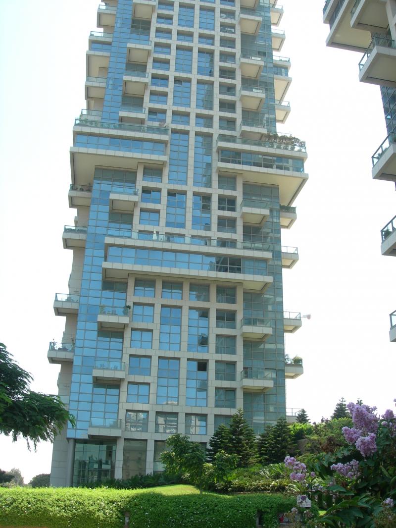 Appartement dans une tour de luxe tel aviv luxury real - Appartement de standing horloge tower ...